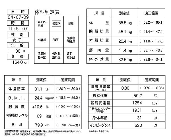 ioi353sサーマル結果用紙