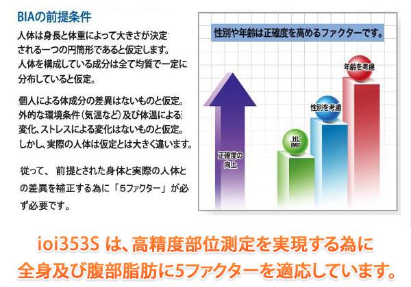 【製品特長】5ファクター